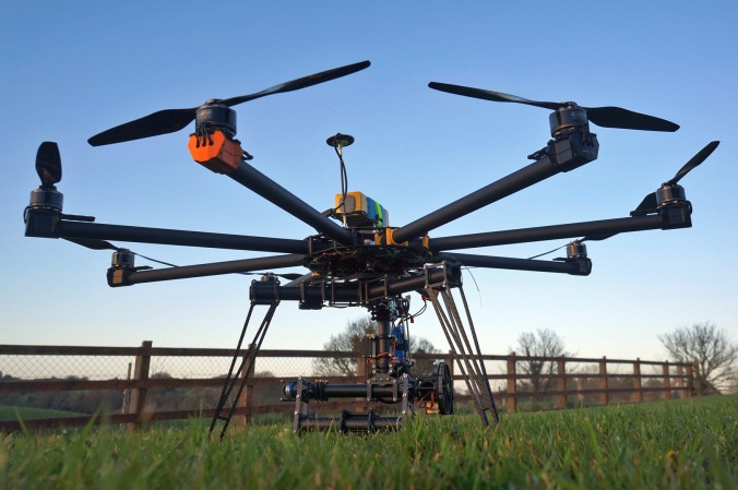 Versadrones heavylift octocopter