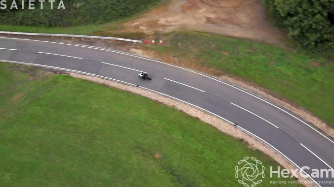 Saietta R aerial photography