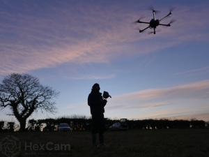 Low light drone pilot training